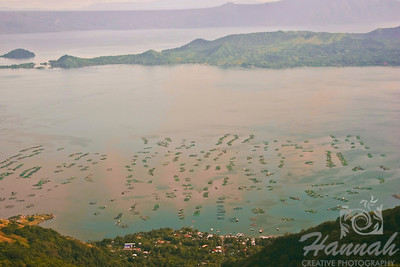 View of Taal Lake in Tagaytay City, Philippines.  © Copyright Hannah Pastrana Prieto