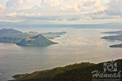 View of Taal Lake and Taal Volcano in Tagaytay City, Philippines.  © Copyright Hannah Pastrana Prieto