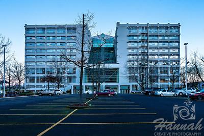 Montgomery Park Building in Portland, Oregon shot from the parking lot  © Copyright Hannah Pastrana Prieto