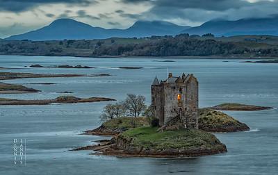 Castle Stalker, Loch Laich