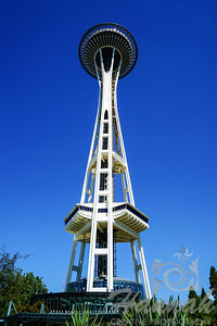 The Space Needle at Seattle, Washington