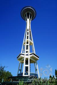 The Space Needle at Seattle, Washington