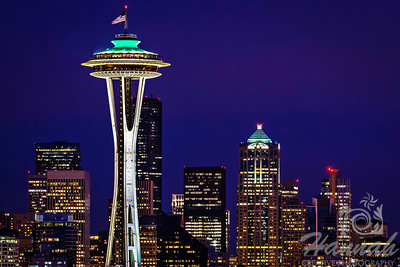 View of Seattle, Washington's major landmark... The Space Needle  © Copyright Hannah Pastrana Prieto