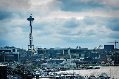 City skyline of Seattle, Washington with the view of The Space Needle  © Copyright Hannah Pastrana Prieto