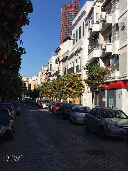 The Triana district of Sevilla.