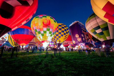Forest Park Balloon Glow