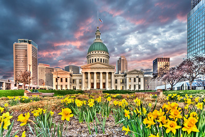 Old Courthouse Spring HDR