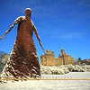 The Wicker Lady, gone now, think she blew away