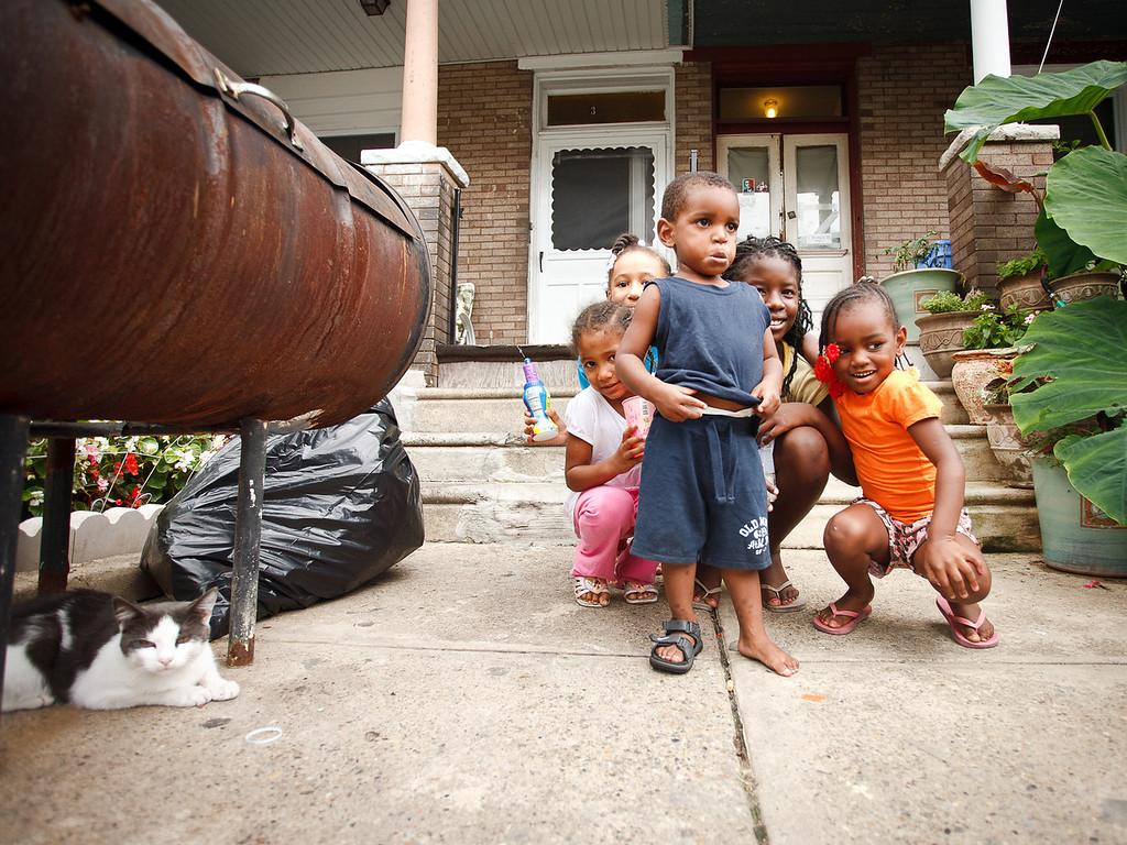 Kids in Germantown