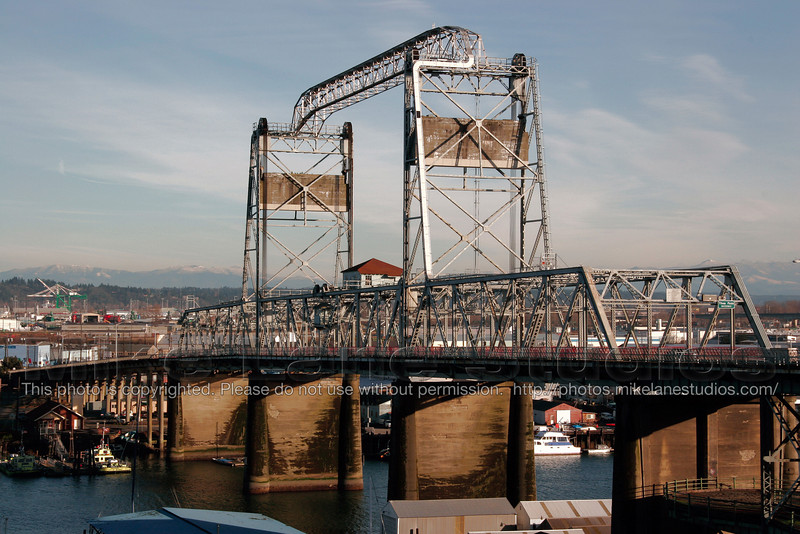 The 11th street bridge in Tacoma, Wa.