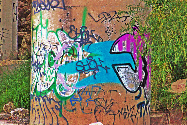 Graffiti on The Bayou