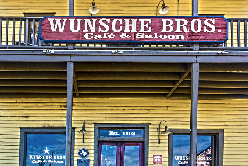 Wunsche Bros. Closed...Fire Last Year.