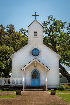 Haw Creek Church in Round Top