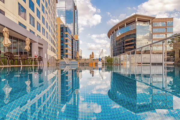 From The Edge - The Westin at The Woodlands Pool