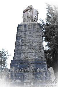 "The Statue of Mary at ""The Grotto"" in Portland, Oregon  © Copyright Hannah Pastrana Prieto"