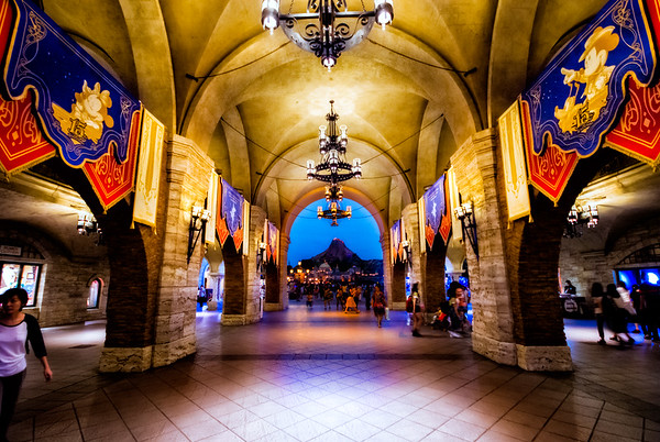 Disney Sea Entry Way