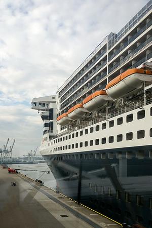 Queen Mary II  - october 2018