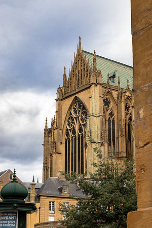 La cathédrale de Metz   Metz Cathedral