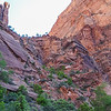 Began climb to Angel's Landing.