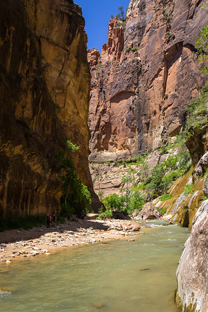The Narrows - Zion National Park, AZ