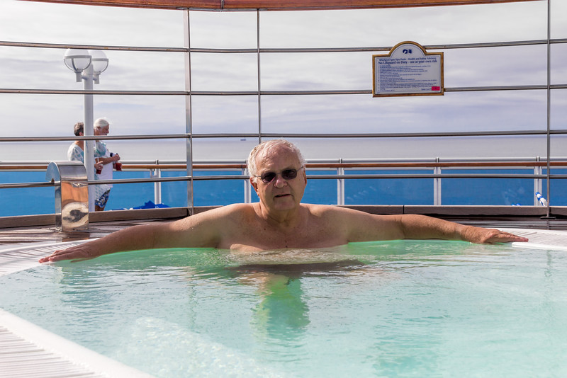 The Only Warm Pool on the Ship