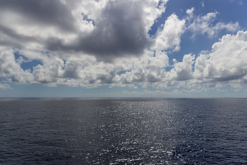 Just Another Pretty Day at Sea