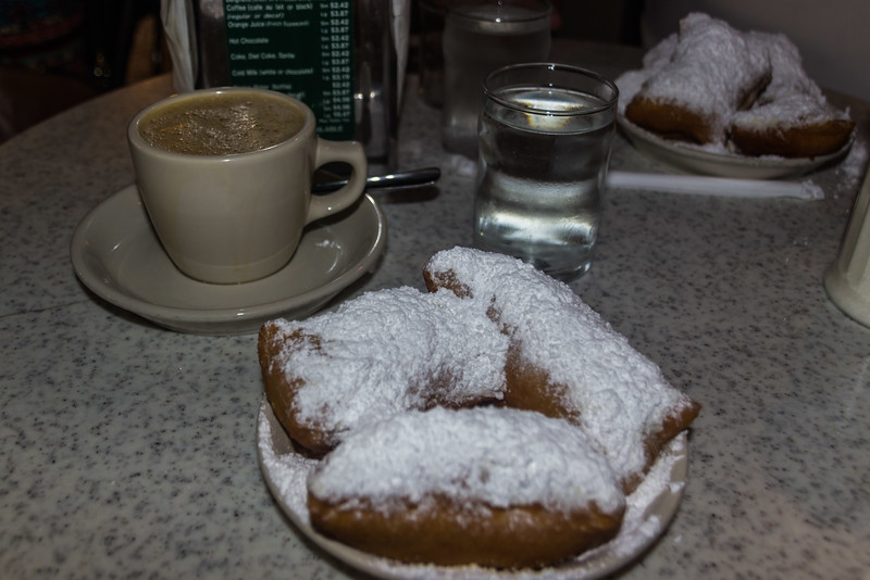 New Orleans, LA - Oh the Beignets You Can Eat!