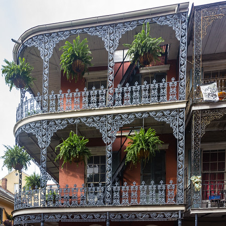 New Orleans, LA - Oh the Balconies You Will See!