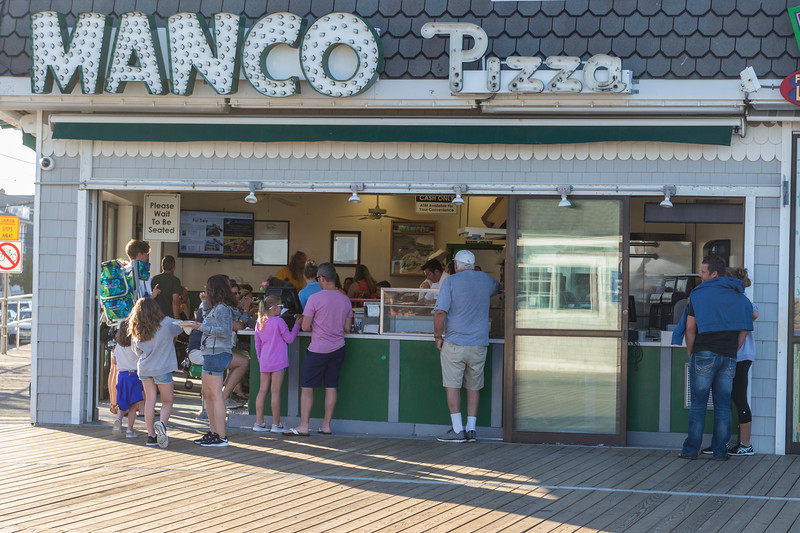 The first stop on the boardwalk!