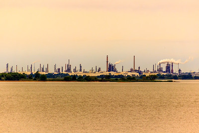 A refinery in Wilmington, DL