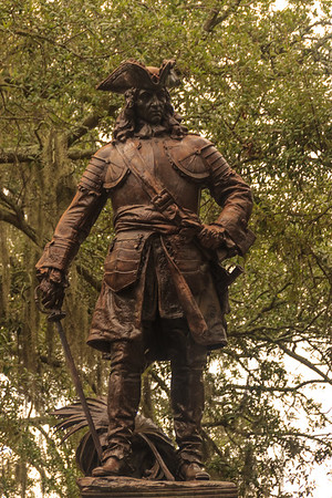 A Statue in Savannah, GA