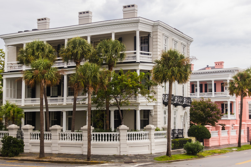 A Typical House in Charleston, SC