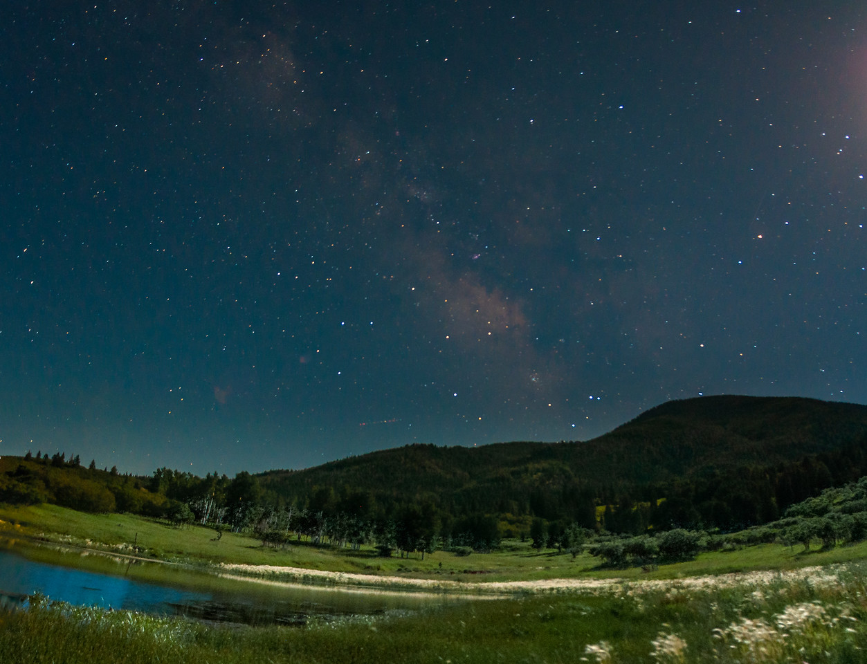 Milkyway over Blue Moutains