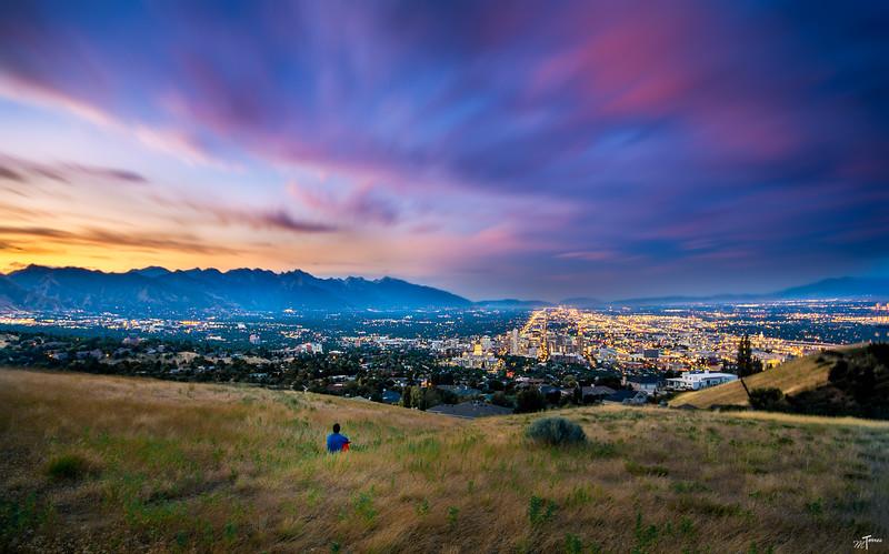 Ensign Peak Overlook