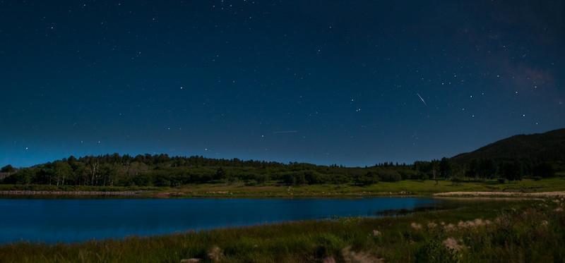 Monticello Lake Under the Stars