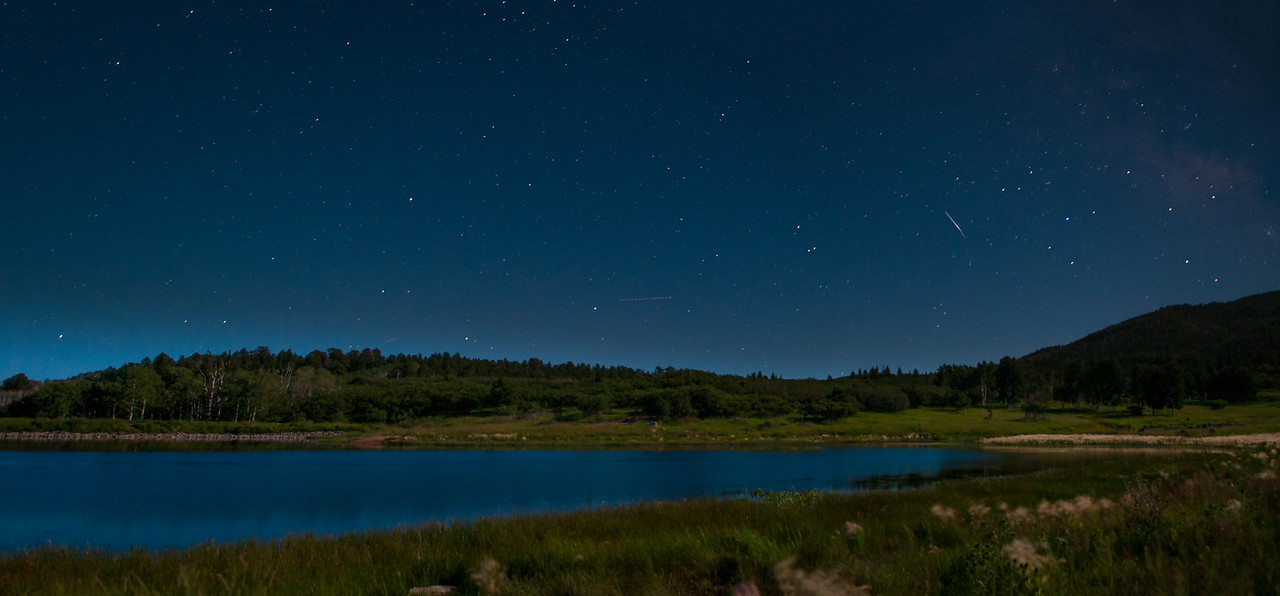 Monticello Lake Under the Stars