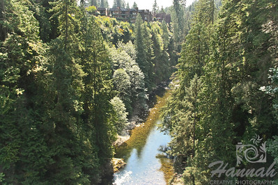 View from the Capilano Suspension Bridge Vancouver, British Columbia, Canada   © Copyright Hannah Pastrana Prieto