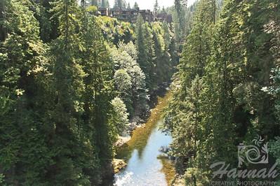 View from the Capilano Suspension Bridge Vancouver, British Columbia, Canada   © Copyright Hannah Pastrana Prieto