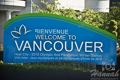 "Signage of ""Welcome to Vancouver"" Vancouver, British Columbia, Canada   © Copyright Hannah Pastrana Prieto"