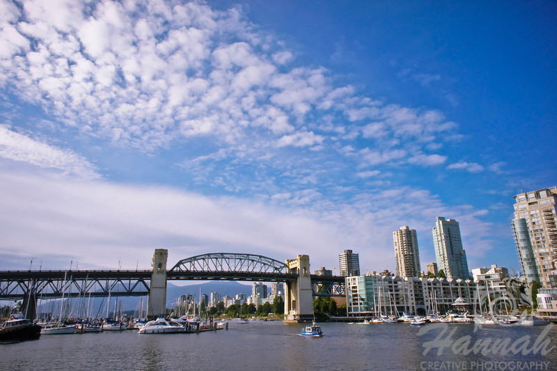 View of the Burrard Bridge from Granville Island Vancouver, British Columbia, Canada   © Copyright Hannah Pastrana Prieto