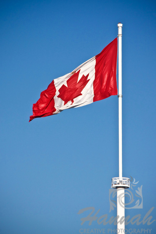 Flag of Canada  Shot taken at Vancouver, British Columbia  © Copyright Hannah Pastrana Prieto
