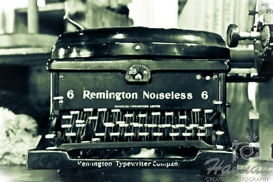 Antique typewriter found at a store in Vancouver, British Columbia, Canada  © Copyright Hannah Pastrana Prieto