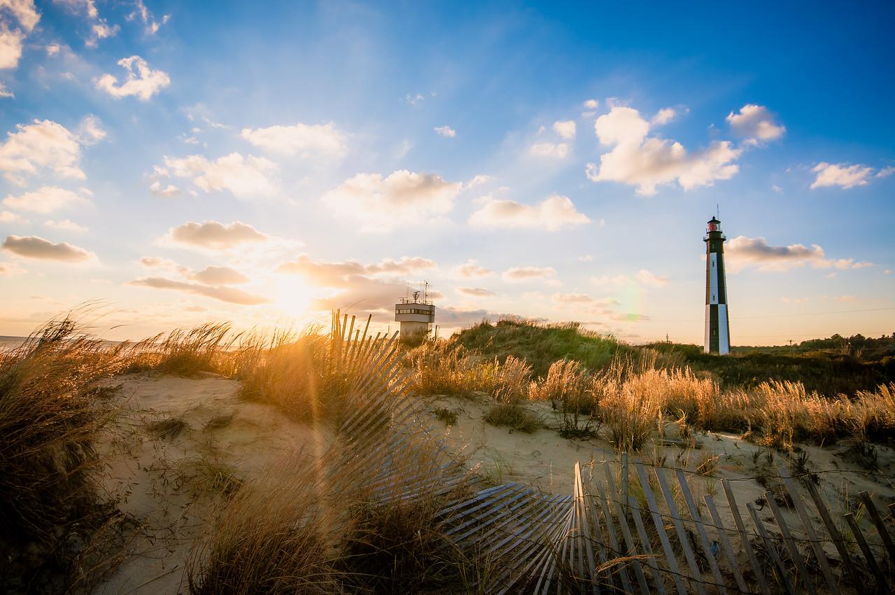 Sunrise at Cape Henry