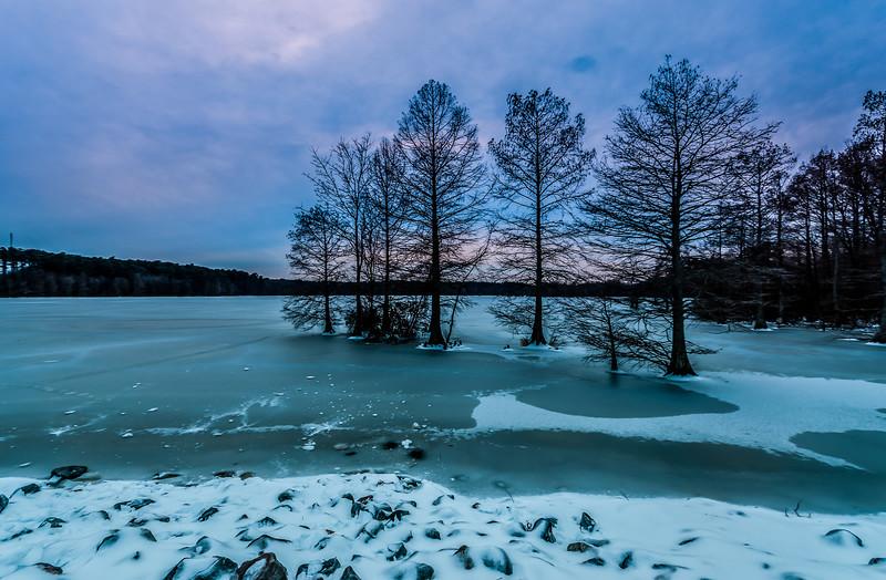 Icy Virginia Beach - February 17