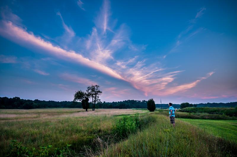 Yorktown Battlefield Selfie
