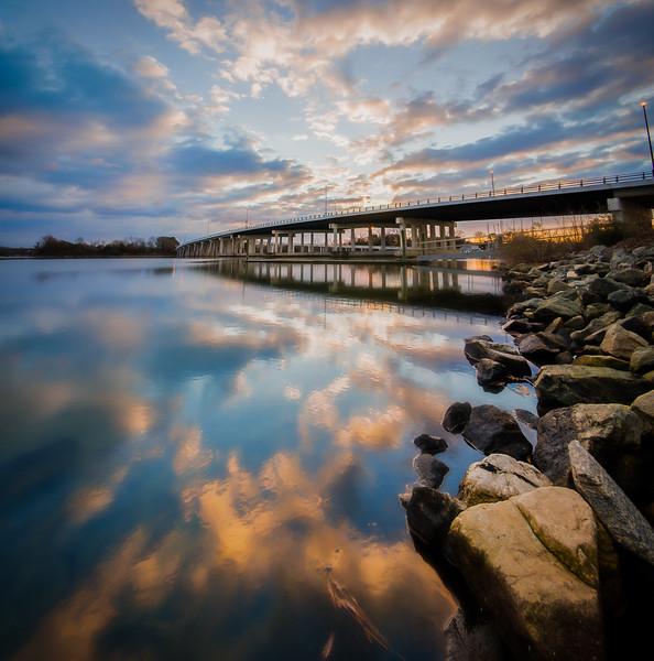 Hampton Roads Harbor Bridge - January 19