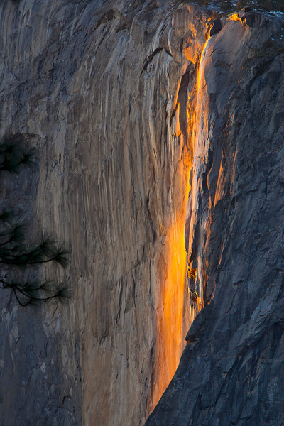 The firewall at Horsetail Falls, different perspective.  See the other...