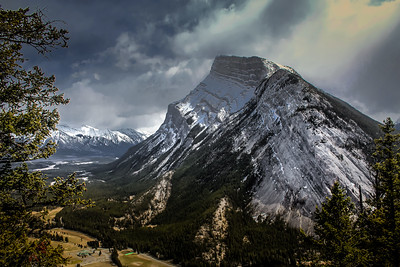 Mount Rundle from Tunnel Mountain