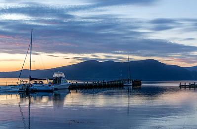 Alonnah harbour, Bruny Island, Tasmania
