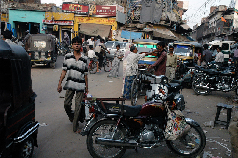 Agra, India Typical scene in one of the many chaotic cities of India. Always something new to see around every corner.